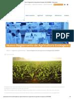 Nuevo Reglamento de Agricultura Ecologica (UE) 2018_848 - Phytocontrol