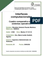 Cuadro Comparativo Interfaces Computacionales