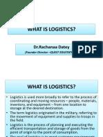 Logistics Basics