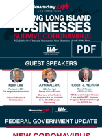 Helping Long Island businesses survive coronavirus - April 27 webinar presentation