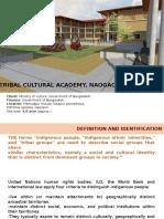 tribal cultural academy, Naogaon, Bangladesh
