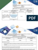 Guía de actividades y rúbrica de evaluación - Paso 8 - Actividad final