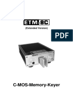 ETM-8CE Manual