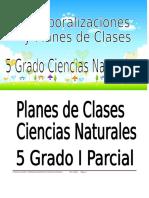 5 GRADO CIENCIAS NATURALES