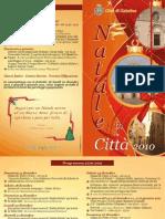 Depliant programma festività 2010-2011