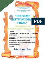 INFORME             INSTITUCIONAL FINAL DE LOS P.P.E. 2018 2019.docx