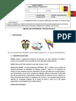 1 CORTE CICLO V GUIA DE TRABAJO # 1 MANUAL DE CONVIVENCIA Y PACTOS DEL AULA