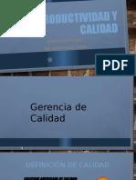CLASE GERENCIA DE CALIDAD