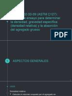Presentación Norma ASTM C 127 y 128