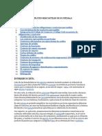 CONTRATOS MERCANTILES DE GUATEMALA