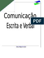 Apostila - Comunicação Escrita e Verbal