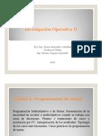 IO II- 4a clase teórica - Programación de Metas o Multiobjetivo.pdf