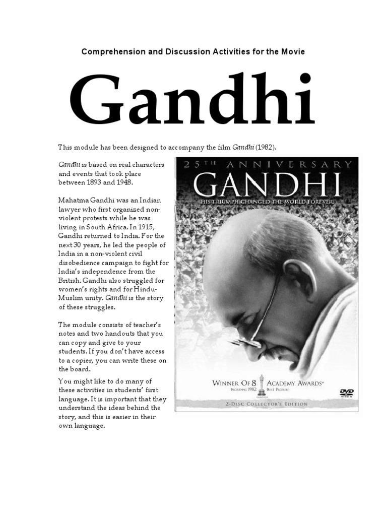 worksheet Gandhi Worksheet gandhi mahatma british raj