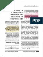 Los retos de la democracia mexicana (discriminación) 2.pdf