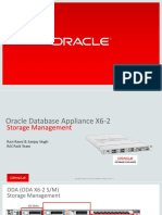 ODA X6-2 Storage Management