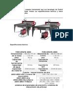 Tarea 1 - Conceptos básicos del CNC y comparación de máquinas herramienta