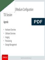 ODA X6-2 TOI Agenda