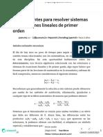 Determinantes para resolver sistemas de ecuaciones lineales de primer orden — Steemit