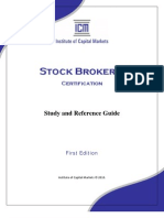 ICM Stock Brokers Study Guide 2010