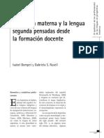 Bompet y Russell - La lengua materna y la lengua segunda pensada desde la formación docente.pdf
