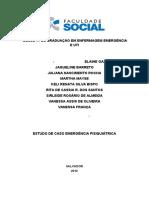 Estudo de Caso Emergencia pisiquiatrica1