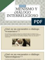 EDWARD DE AVILA-ECUMENISMO Y DIÁLOGO INTERRELIGIOSO