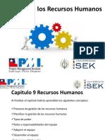 Introducción Director de Proyectos  capitulo 9 Recursos humanos (1)