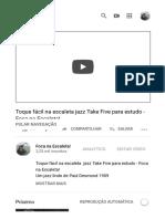 COMENTARIOS DENUNCIADOS Toque fácil na escaleta jazz Take Five para estudo - Foca na Escaleta! - YouTube