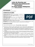 Guion XXV° Aniv Sacerdotal P. JC Pellegrino.docx