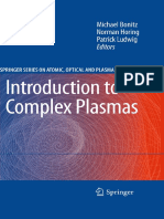 Bonitz M., Horing N., Ludwig P. (Eds.) - Introduction to Complex Plasmas - 2010.pdf