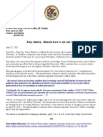 Rep. Bailey- Illinois Law is on Our Side