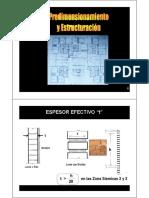 C03 Predimen y Estructuración
