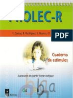 PROLEC-R Cuaderno de Estímulos