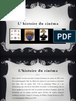 la_histoire du cinema juliette et laura