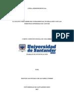 Linea Jurisprudencial Seminario de Jurisprudencia