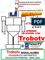Trobotv Aprende a Dividir Manual Alumno 3456 Cursos Teleertv 2020
