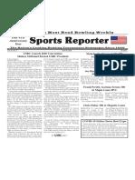 April 30, 2020  Sports Reporter