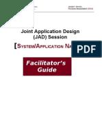 TEMPLATE JAD Session Facilitator Guide
