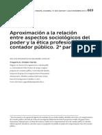 Etica Kantian y Contador Püblico