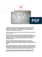 Caja de Nudos Realizada Sobre Carta Marina