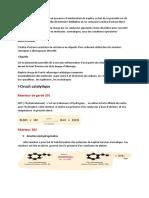 résumé reformage catalytique
