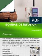 Bombas de infusión- Andrea De La Cruz Gallardo.ppt