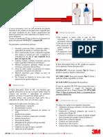 3M 4540 - MAMELUCO RESISTENTE A PARTICULAS RADIOACTIVAS.pdf