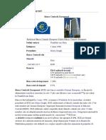 Banca Centrală Europeană.doc