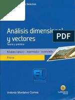 Temas Selectos [LUMBRERAS] -Análisis Dimensional y Vectores-FISICA