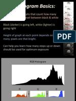 Photography - Histograms
