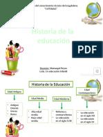 HISTORIA DE LA EDUCACIÓN Grupo #2.pptx