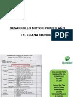 DESARROLLO MOTOR 1 AÑO