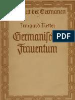 Irmgard Netter - Germanisches Frauentum