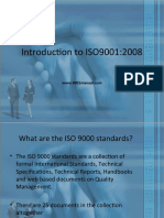 Introduction to ISO 9001 Presentation Sample